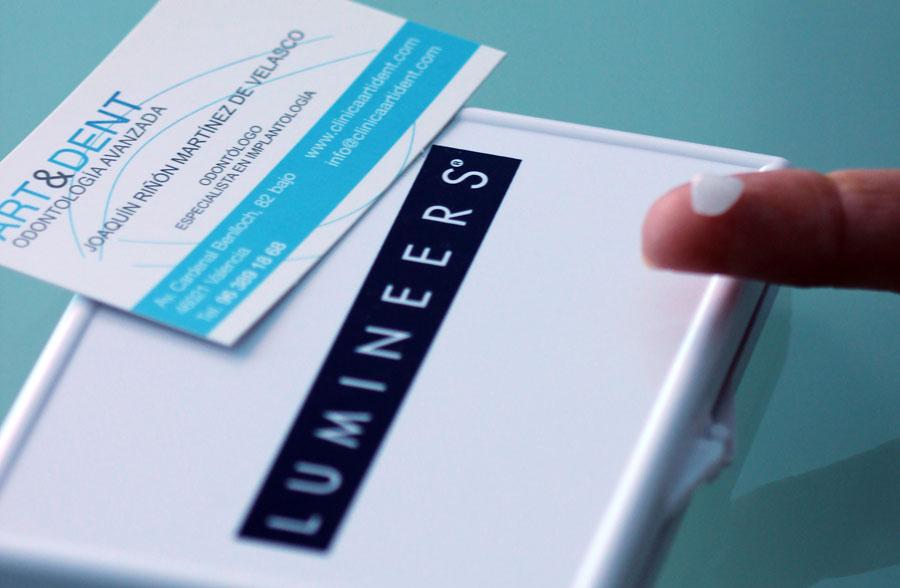 Sonrisas perfectas con Lumineers. Art&Dent es Clínica Dental certificada en Valencia.