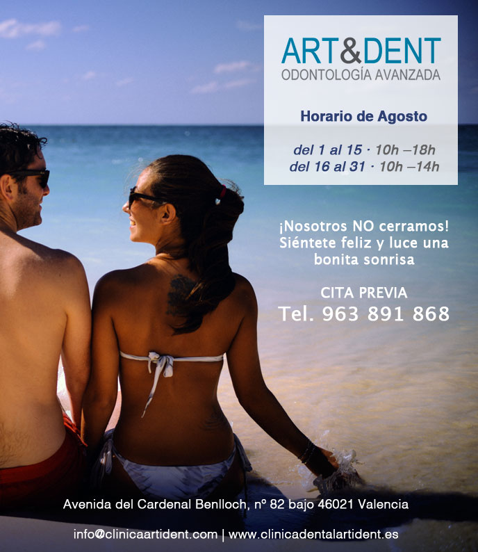 Horario de verano Art&Dent.