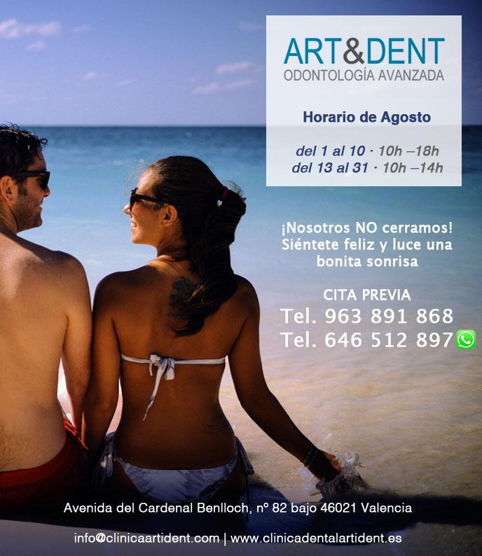 Horario verano Clínica Dental en Valencia
