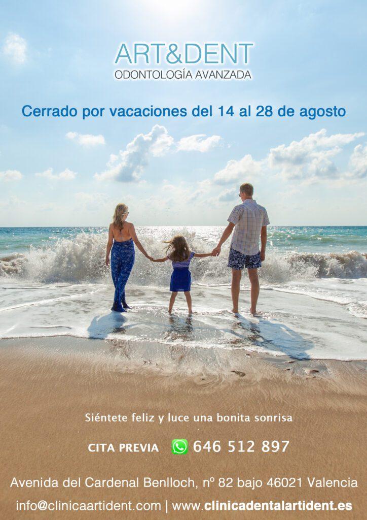CLINICA DENTAL EN VALENCIA - Cerrado por Vacaciones